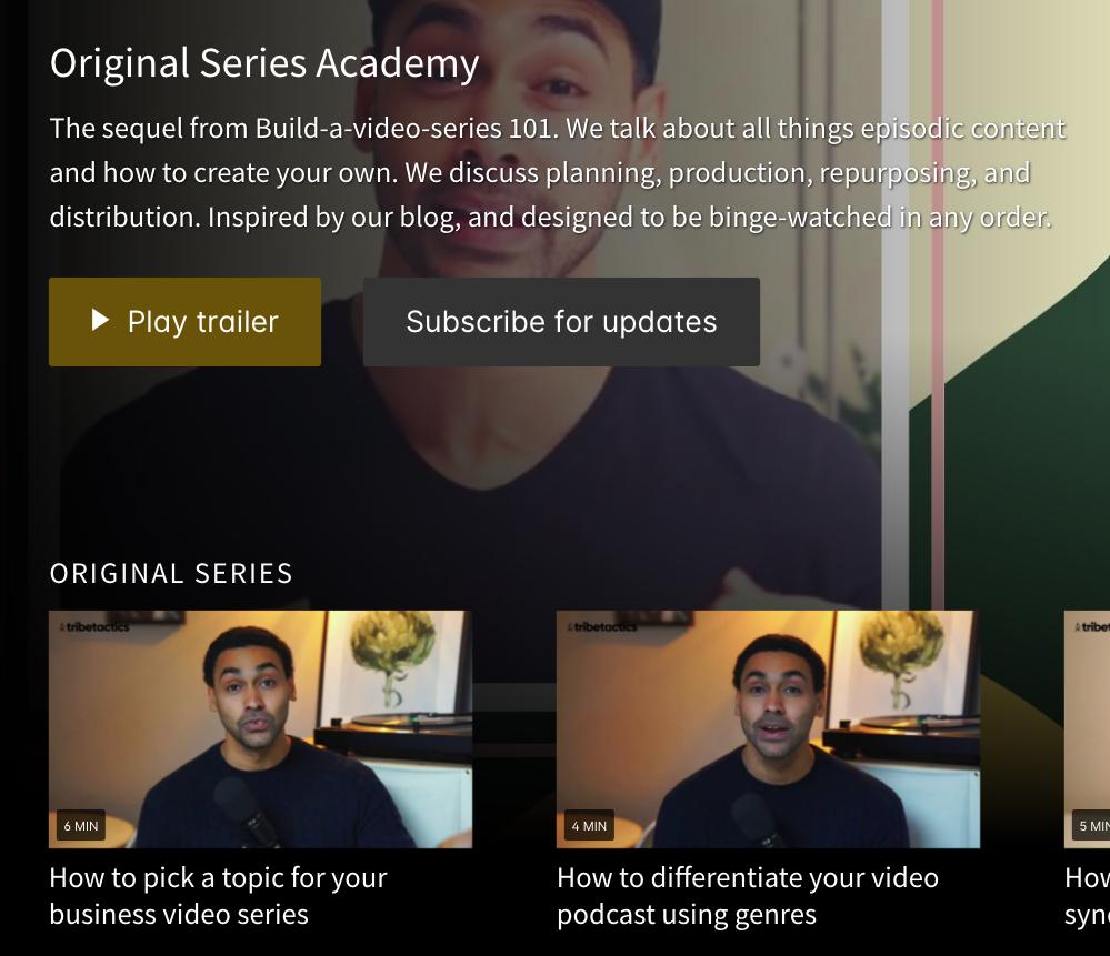 original series academy -